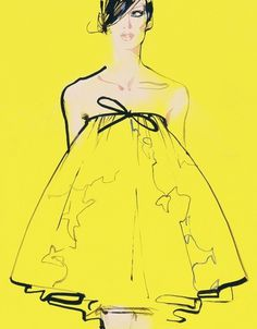 Haute Couture Fashion Illustration – Illustration inspiration on MONOmoda #fashion #illustration