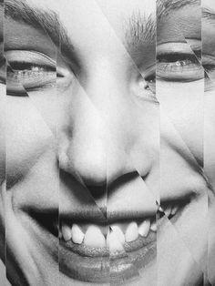 Franzi Müller : Stefan Heinrichs #collage #stefanheinrichs #cuts