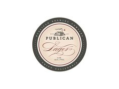 Publican Brewery #beer #design #wood #brews #identity #package #typography