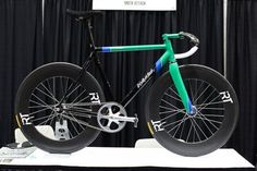 2012 NAHBS: Moth Attack Track Bike - PROLLY IS NOT PROBABLY #bicycle #bike