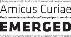 Klavika by Eric Olson #font #process #serif #sans #type #typography
