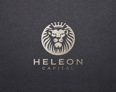 Heleon Logo #logo#lion#royal#king#animal#crown