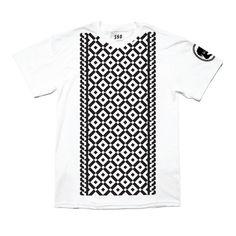 k a t e m o r o s s / w o r k / LA ROUX // TUXTILE SHIRT #blackwhite #apparel #graphic #illustrations #tee