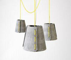 Google Reader (1000+) #interior #lamp #design #lighting #cement