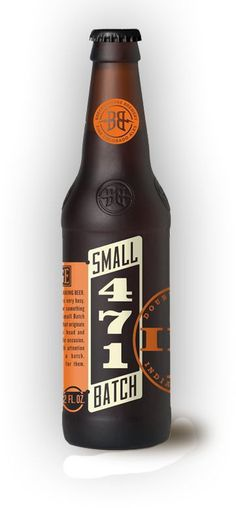 471 Small Batch #beer #bottle #packaging #design #graphic #label