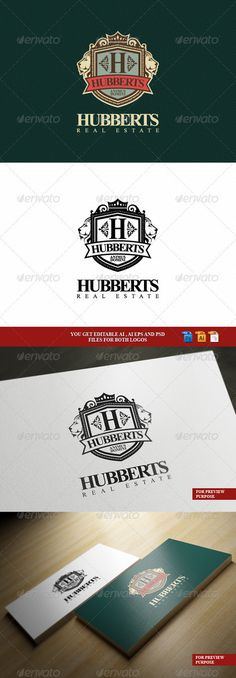 Hubberts Royal Crest Logo   Crests Logo Templates