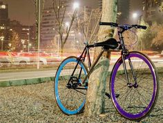 The Yerka bike may be the world's first bike that can't be stolen: with its innovative bike lock you can truly enjoy your ride. #modern #lifestyle #design #travel #product #industrial #bike #outdoor #cycling #style #lock