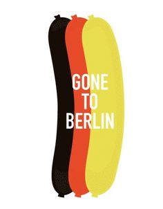 ANONYMOUS MAG #flight #drink #germany #travel #eat #sausage #enjoy #illustration #type #berlin
