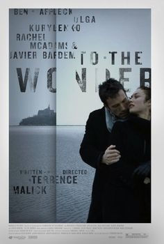 To the Wonder Movie Poster #movie poster #movie #film #poster