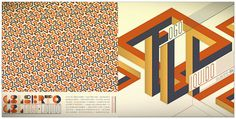 LP - Gilberto Gil - Tapa y contratapa #cover #album #pattern