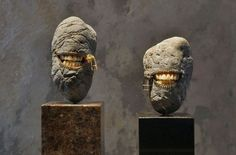 Stone Sculptures by Hirotoshi Itoh 1