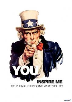 Inspire Sam #visual #inspire #design #uncle #sam