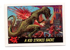 DINOSAURS ATTACK! #30 • A KID STRIKES BACK!