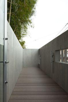 House in Inokashira / Studio NOA #houses #courtyards #architecture