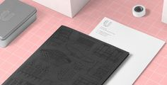 Urbanbacklog – branding corporate design visual identity stationery logo logotype print business card poster tote bag shirt printed pink m