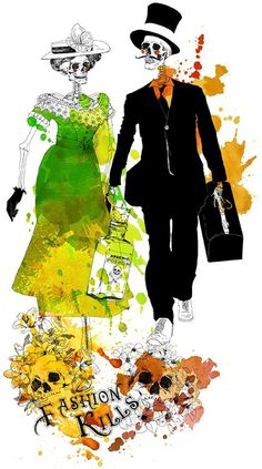 Ryerson University Magazine / Anne Cresci / Lyon #fashion #skeletons