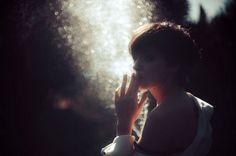 Hernan Corera   PHOTODONUTS DAILY INSPIRATION PHOTOGRAPHY #smoking #bokeh