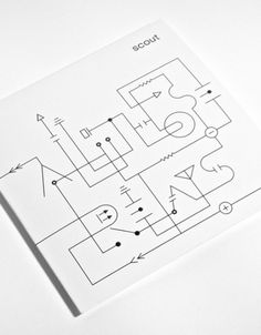 Scout EP Cover | AisleOne #design #graphic #schematics #symbols