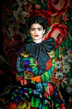 FRIDA on the Behance Network #kahlo #photography #art #fashion #frida