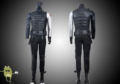 Winter Soldier Bucky Cosplay Costume for Sale