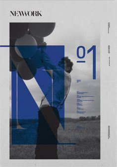 - NEWWORK MAGAZINE ISSUE Nº1 - #layout #photography #magazine