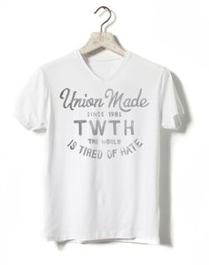 TWTH - The World is Tired of Hate - BMD design #clothing #clothes #design #shirt #handmade #logo #typography