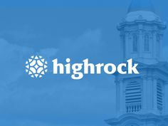 Highrock Church Branding by Justin Schafer for Grain & Mortar. www.justinschafer.me www.grainandmortar.com