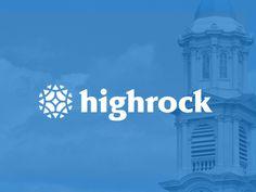 Highrock Church Branding by Justin Schafer for Grain & Mortar. www.justinschafer.me www.grainandmortar.com
