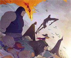 The Darkside by CoranKizerStone on deviantART #kizer #villains