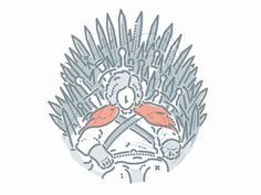 Spot illustration for Wired Magazine - Thrones on Tour.
