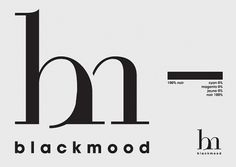 BlackMood | Alternative Newspaper on the Behance Network #logo #blackwhite #branding #typography