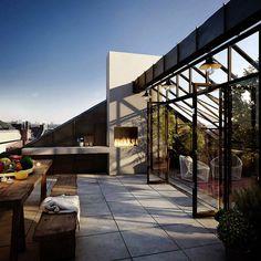Delightful Modern Swedish Apartment | Miss Design #interior #design #decor #terrasse