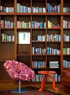 LibraryHouse contemporary architecture and nostalgic air - www.homeworlddesign. com (4) #architecturea #india #interiors