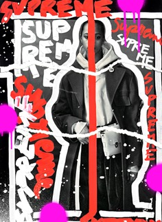 Supreme, , illustration and art on magazine photography by Andreea Robesc (www.andreearobescu.com)