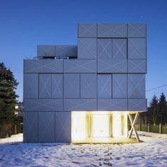 The Minimalist Villa in Ljubljana – Fubiz™ #minimalistic