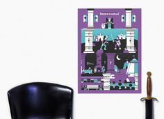Chronicles of Narnia Prince Caspian Screen Print Poster