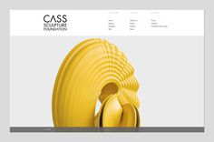 Founded : Cass Sculpture Foundation #white #web #clean