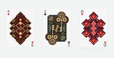9 ♦ 10 ♦ 2 ♣ Of Bamboo Shoots Playing Cards Series on Behance