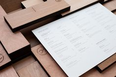 Fat Cow Restaurant Menu and Collateral #catering