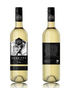 Cogno Brothers - Cobbity Classic on Behance #bottle #classic #design #label #wine #beautiful