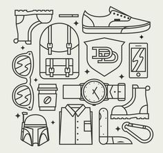 knolling #illustration