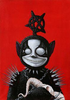 Tele Tubby 2 #tele #evil #tubby