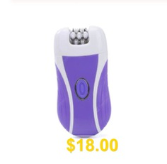 Woman #Epilator #3 #In #1 #Hair #Removal #Electric #Callus #Shaver #Rechargeable #Cordless #Depilator