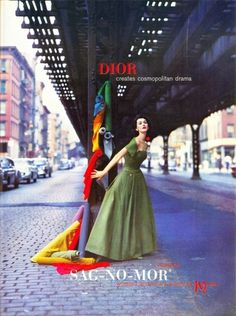All sizes | Dior Ad 1956 | Flickr - Photo Sharing! #ad #1956 #dior