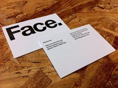 Face.'s Photos - Wall Photos #mexico #indentity #letterpress #designbyface #helvetica #face