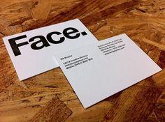 Face.'s Photos - Wall Photos #mexico #indentity #letterpress #designbyface #helvetica #face