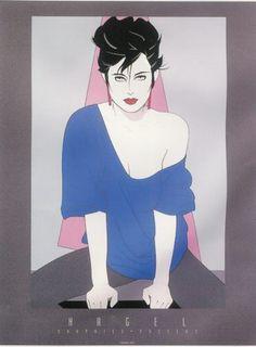 Patrick Nagel - Playboy Art Icon (1945 - 1984) - The Art History Archive #illustration #art #patrick nagel #limited edition prints