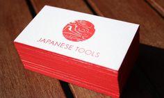 Japanese Tools #business #branding #stationary #card #print #identity #logo