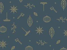 it's fall, a pattern #pattern