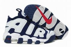 2011 Nike Air More Uptempo White/Blue Men's #fashion